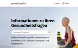 Startseite gesund.bund.de