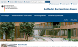 Startseite Leitfaden Barrierefreies Bauen