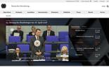 Startseite Deutscher Bundestag