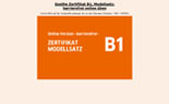 Startseite Goethe Zertifikat B1 Modellsatz