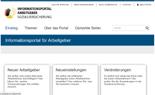 Startseite Informationsportal für Arbeitgeber